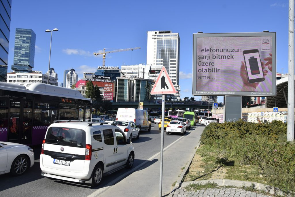 Toyota Hybrid Battery Creative Programmatic DOOH